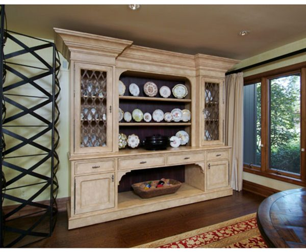 China cabinet detail