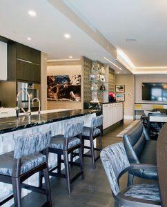 NYC apartment kitchen