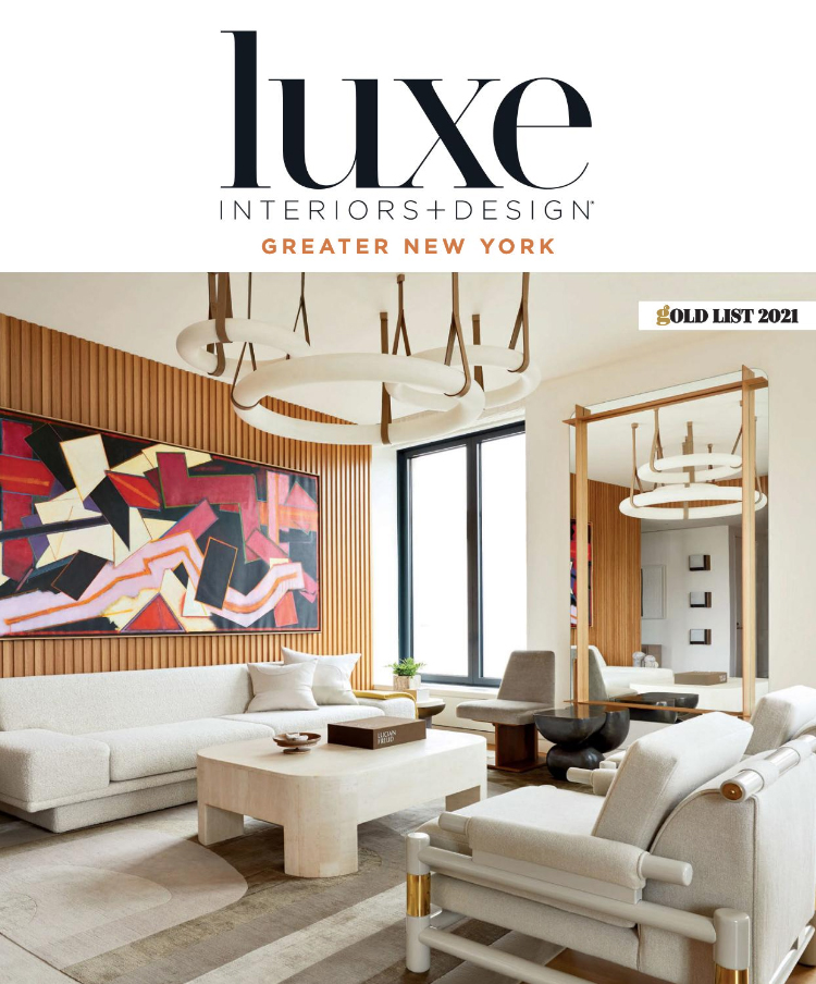 Luxe Magazine Cover January 2021